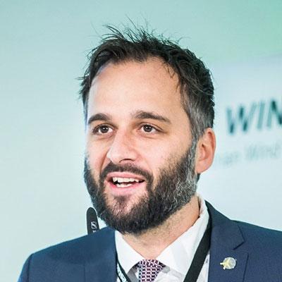 Florian Maringer - Energy Tomorrow 2020 Speaker - Credit: IG Windkraft