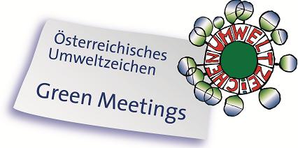 Green Meetings Logo - Energy tomorrow Green Event Nachhaltigkeit Wien